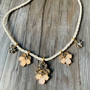 Anthropologie Rope Statement Necklace